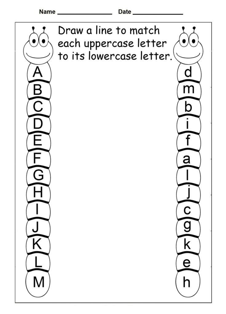 Abc Worksheets For Kindergarten