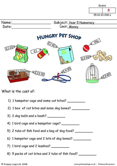 Printable Worksheets For Ukg