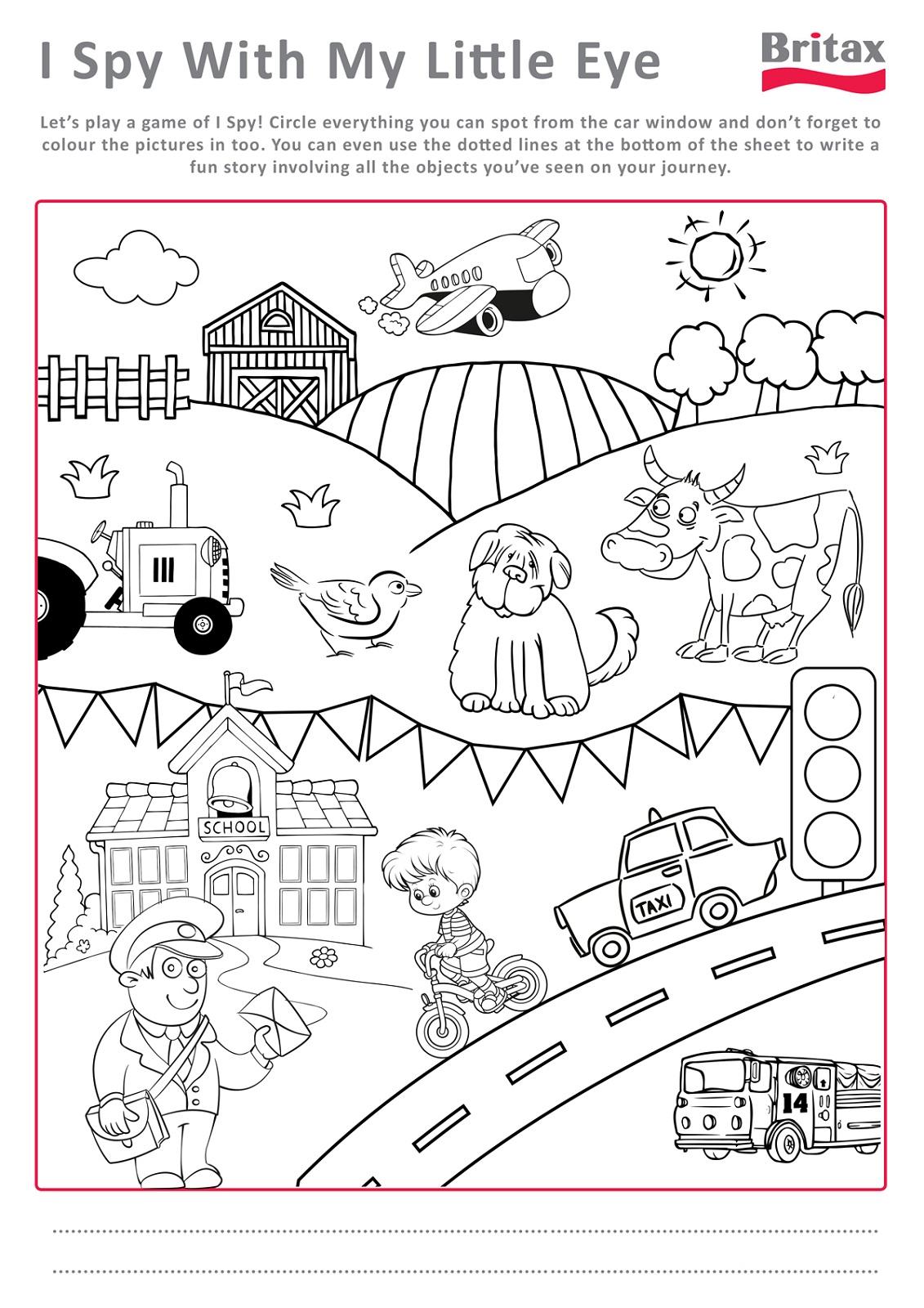 Activity Worksheets For Kids