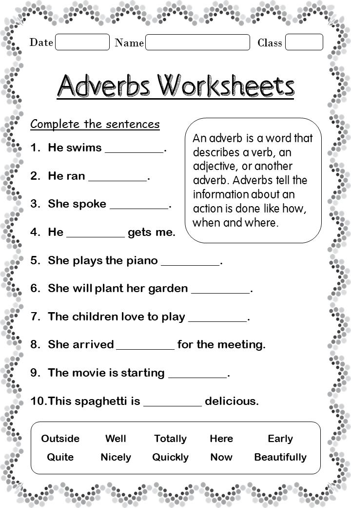 Grade 2 Free Printable Worksheets