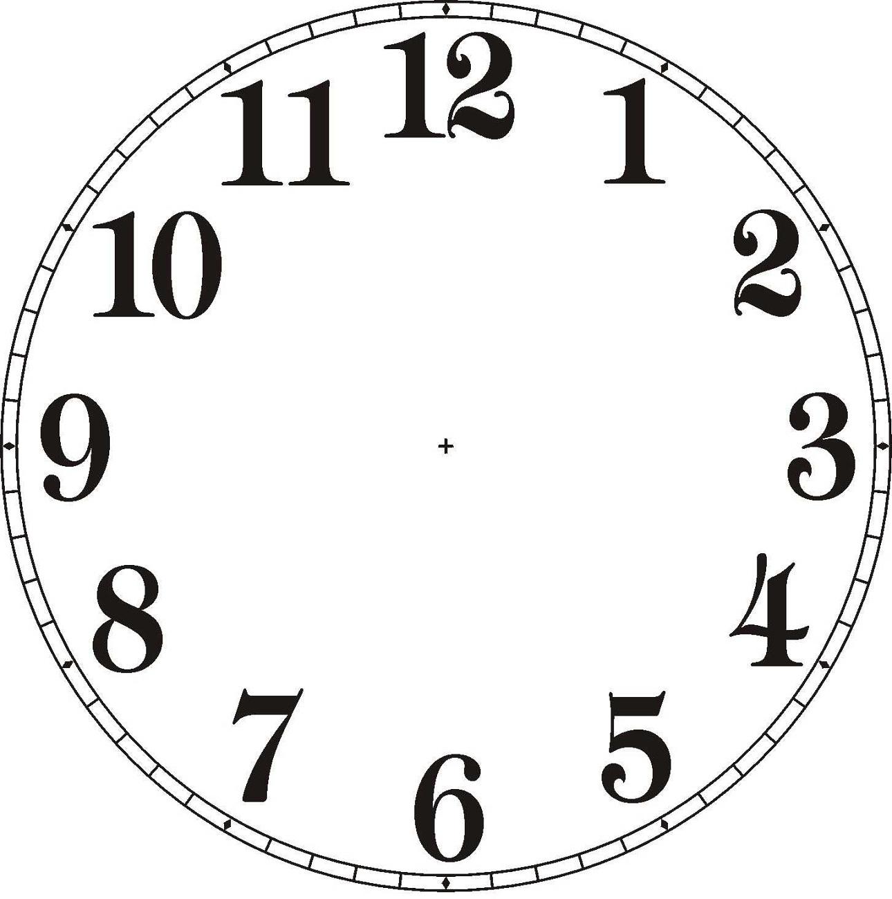 Clock Printable