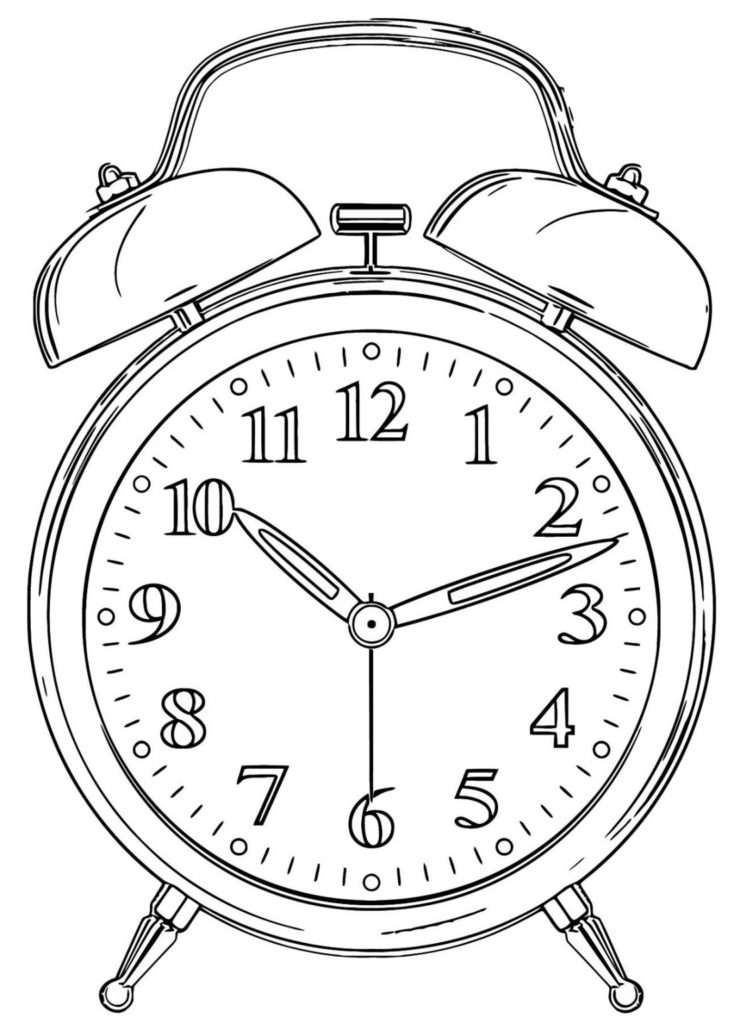 Printable Clock Templates 101 Activity
