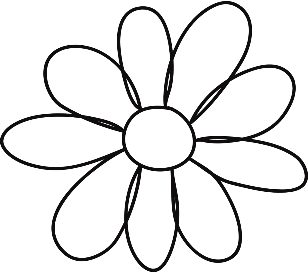 Printable Flower Petal Template Pattern ClipArt Best