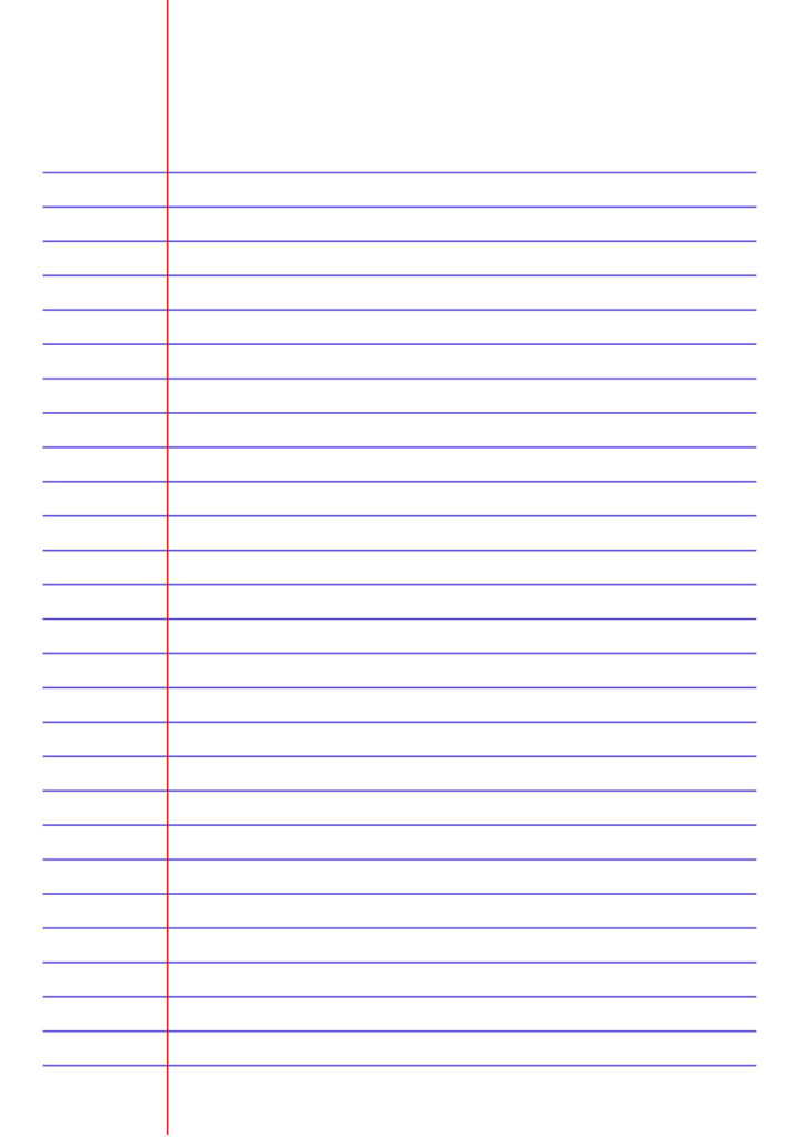 Printable Lined Paper Jpg And Pdf Templates