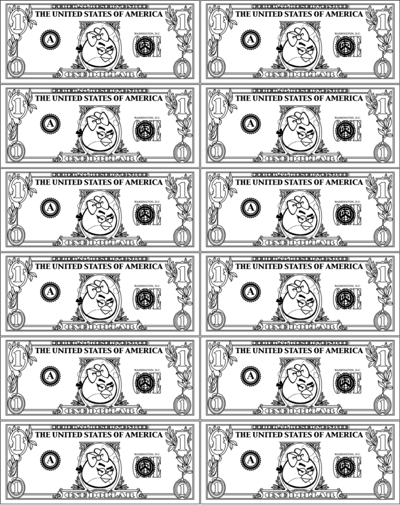 Printable Play Money For Kids Activity Shelter