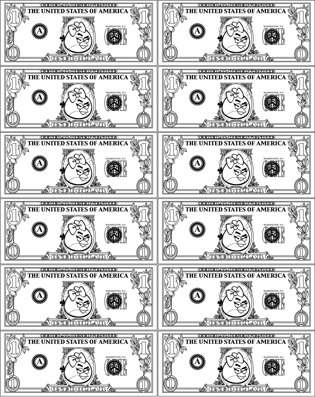 Printable Money For Kids