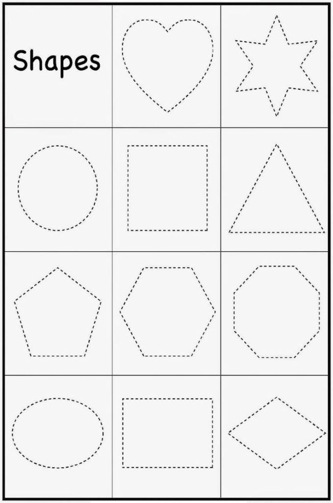 Printable Toddler Worksheets In 2020 Toddler Worksheets