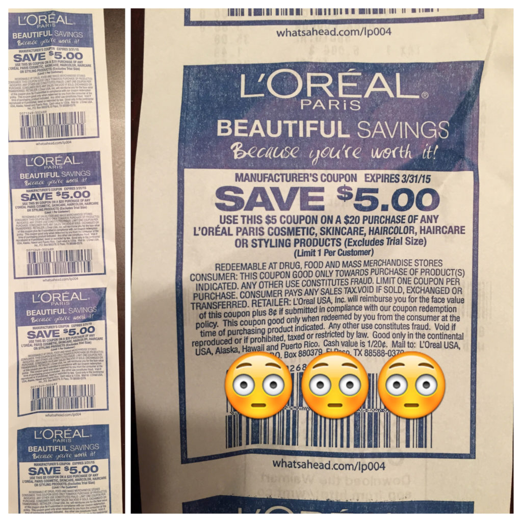 Rare 5 Off 20 L Oreal Purchase Coupon From Walmart