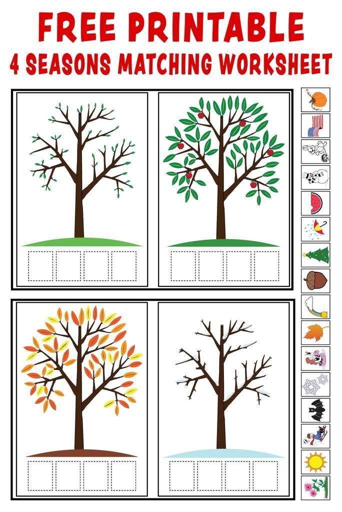 4 Seasons Free Printables