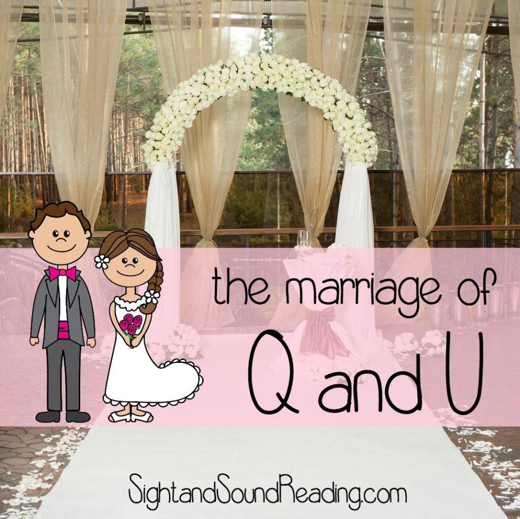 Q And U Wedding Free Printables