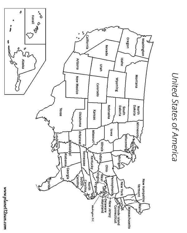 Free Printable U.s. Regions Worksheets
