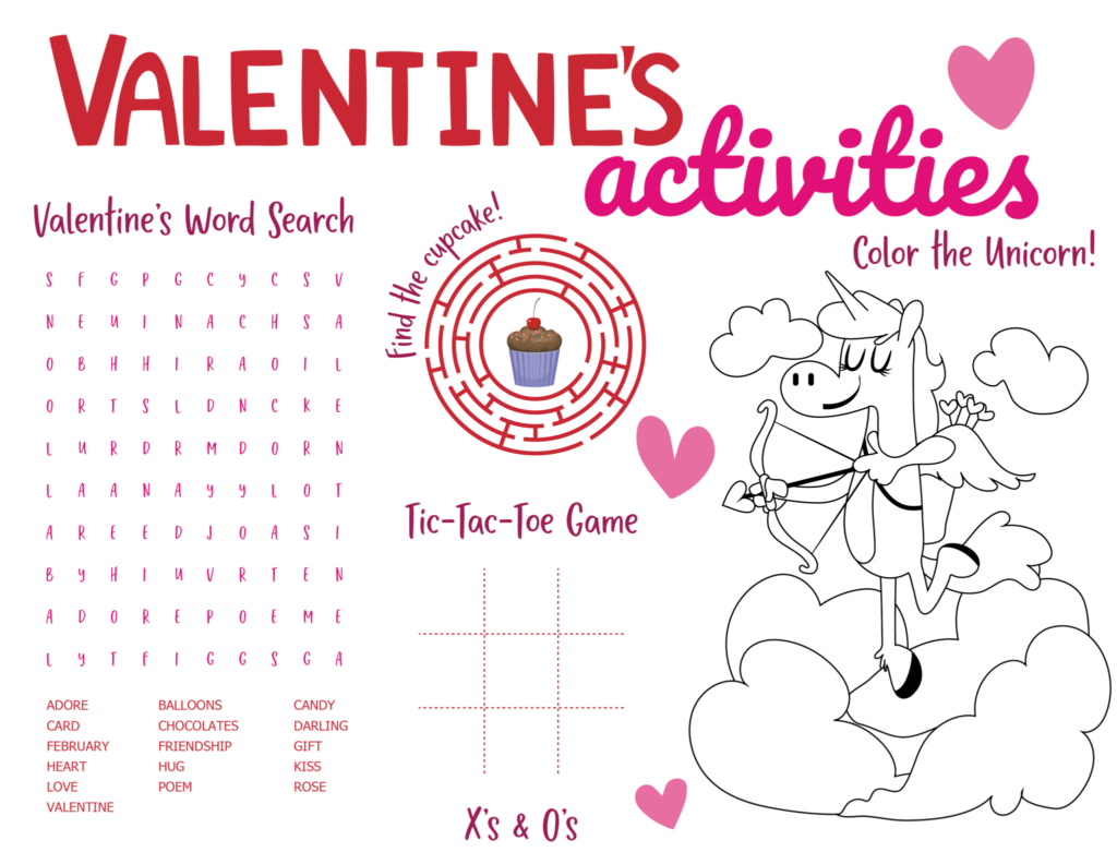 Valentines Day Worksheet Printables To Use FREE Printables