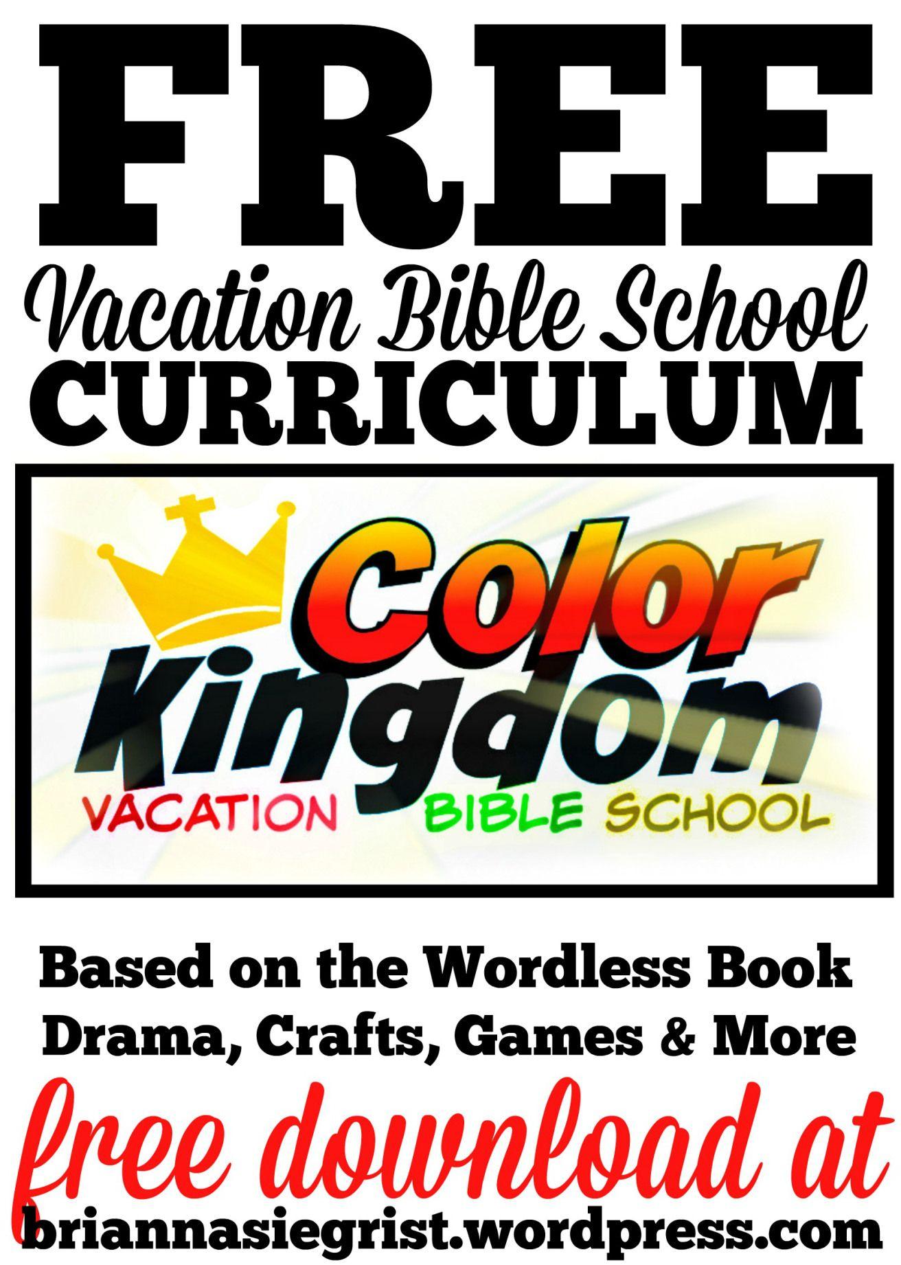 Free Printable Vbs Curriculum