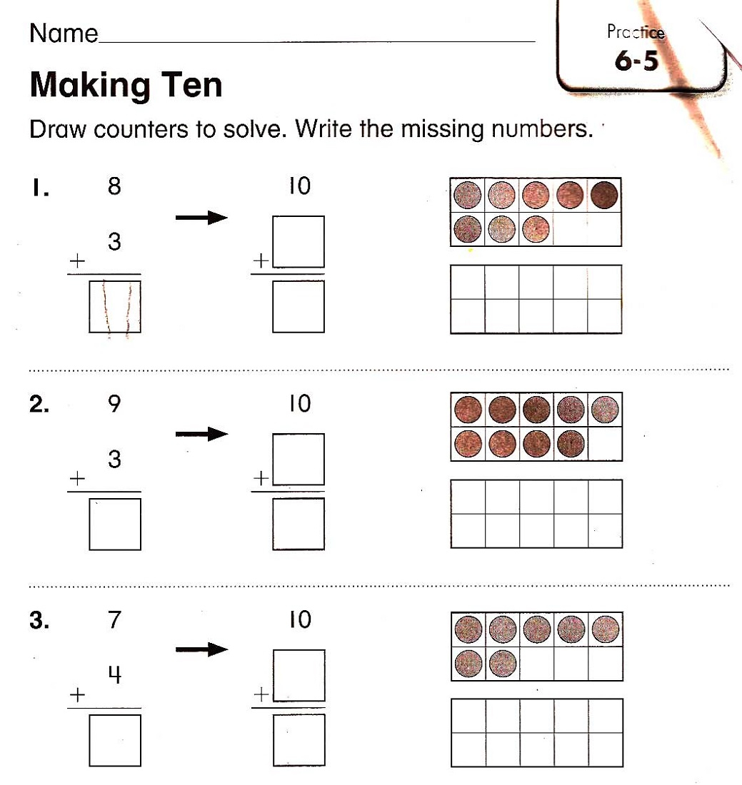 Worksheets For 4 Year Olds